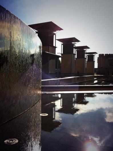 millenium square fountains